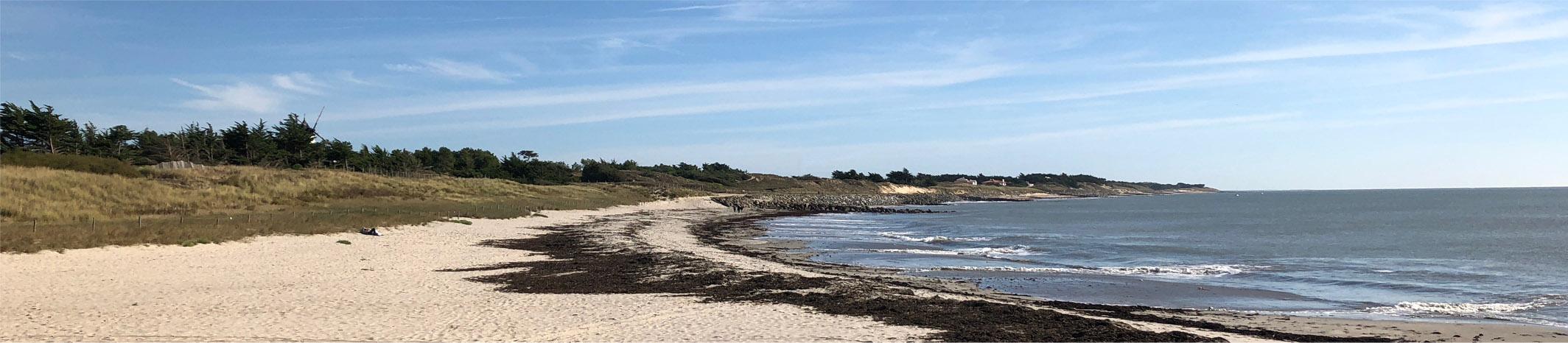Noirmoutier plage Guérinière