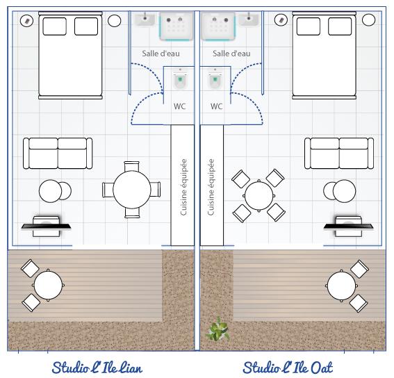 plan studio guideltali noirmoutier